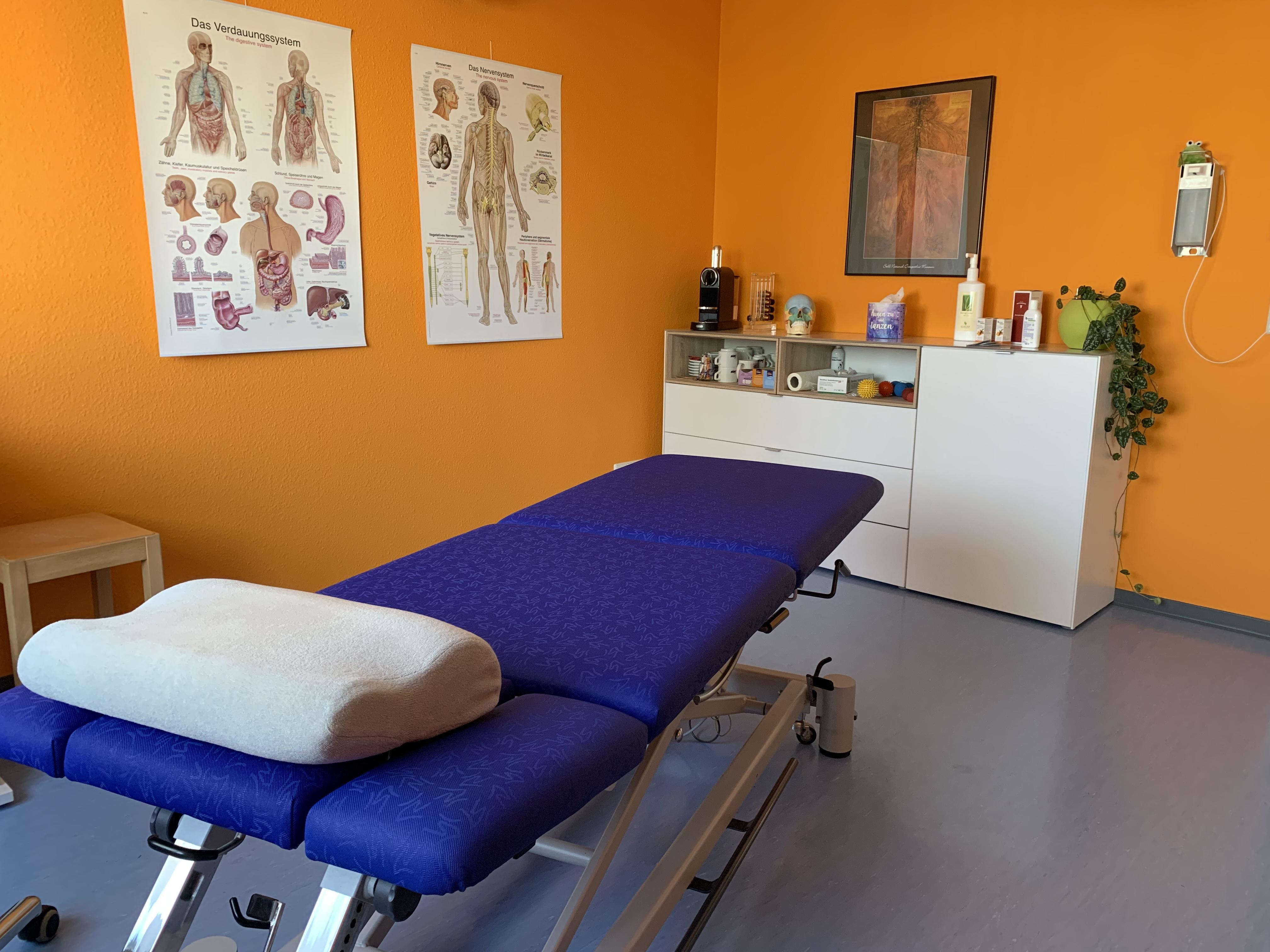 Behandlungsraum Physiotherapie / Manuelle Therapie Praxisgemeinschaft impulse Rastatt
